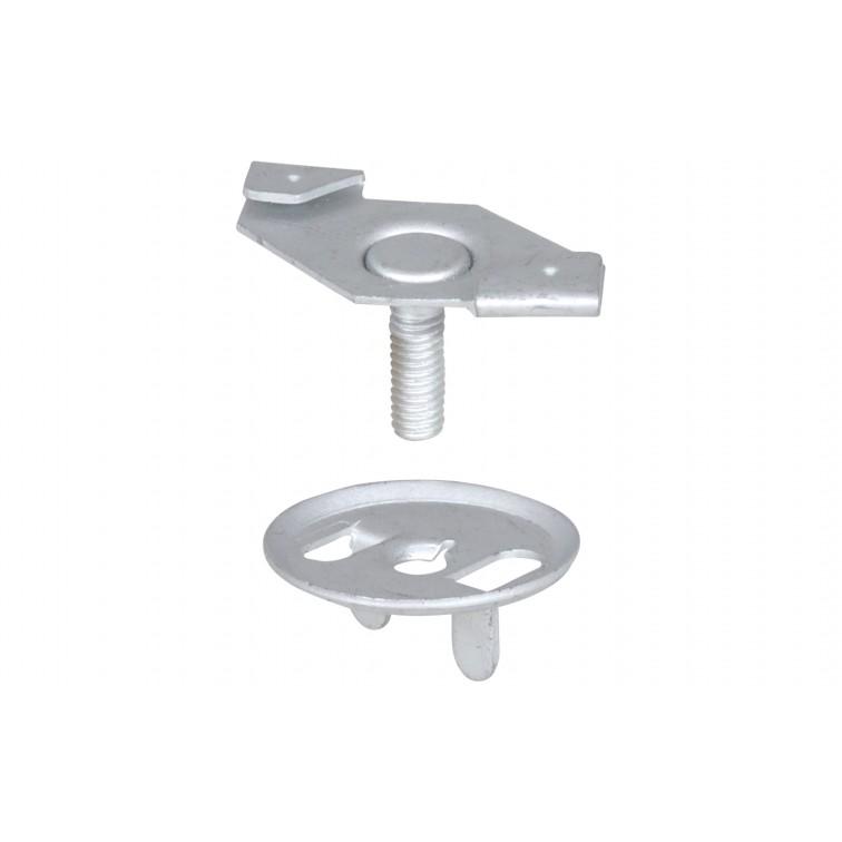 Britclips AC25 Clip 25x16mm M6 (AC25) (Box Quantity:  100)