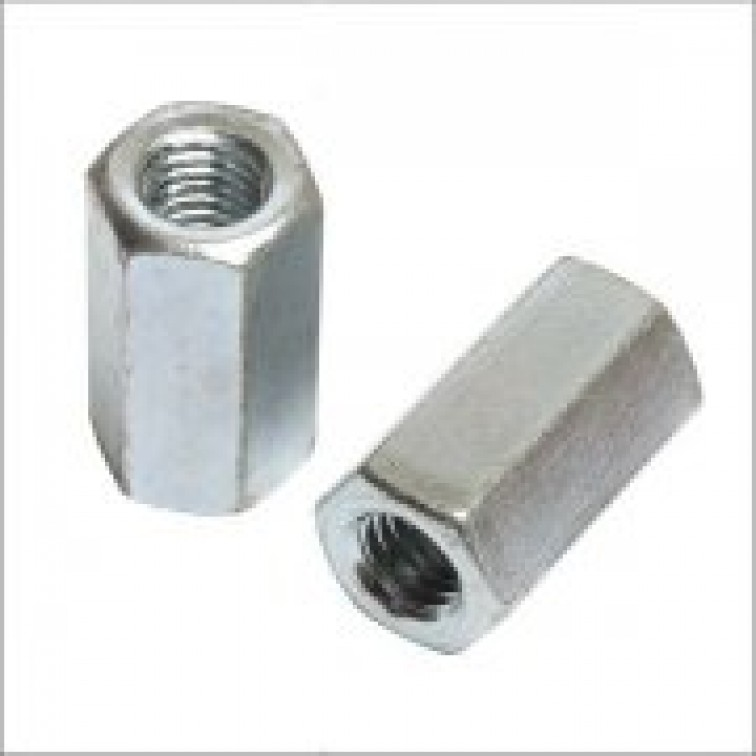 M10 Threaded Rod Connector Zinc Plated