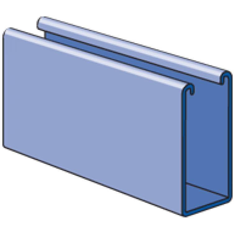 Unistrut 41x 62 Pre Galvanised Channel 1000MM
