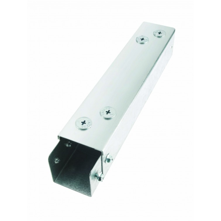 Unistrut Metal Single Compartment Trunking 100x100 Galvanised 3M Long (RU44)