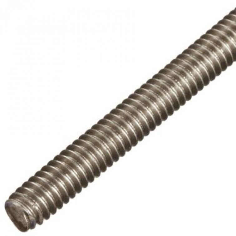 M10 Zinc Plated Threaded Rod  1 Meter