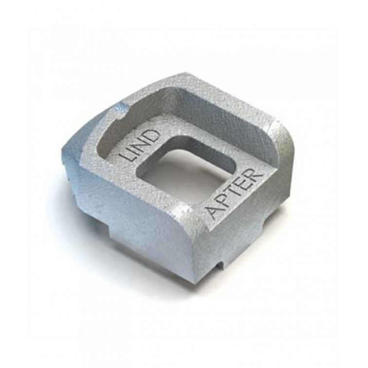 Lindapter M10 Type A Lindapter Long Tail Clamp Hot Dip Galvanised (A10LHDG) (Box Quantity: 100)