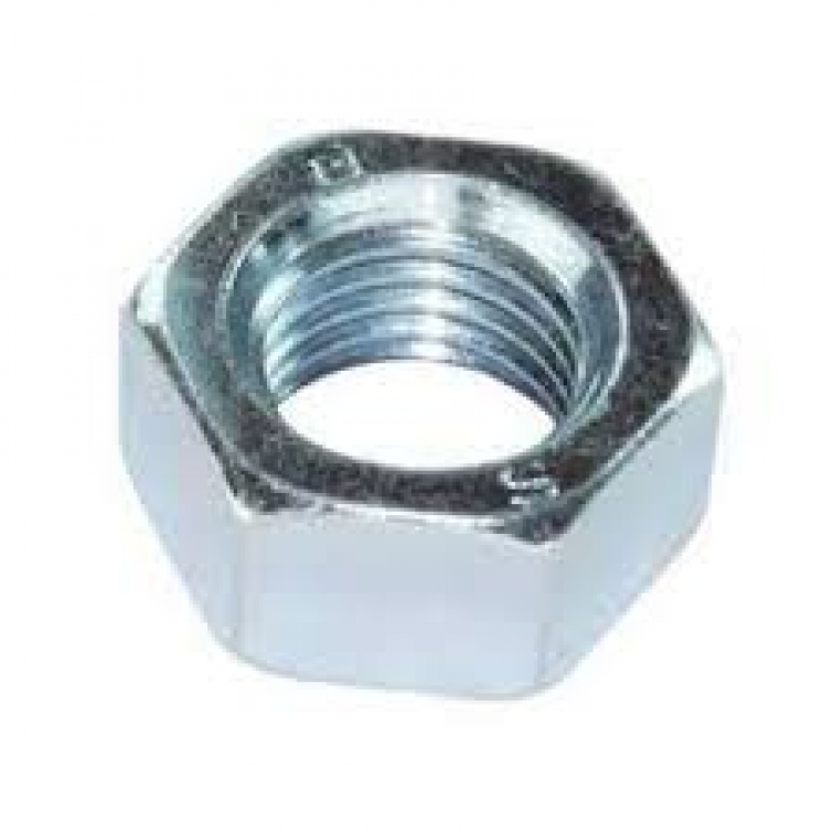Stainless Steel Hex Full Nuts  SS (100) (SS-HFM08)