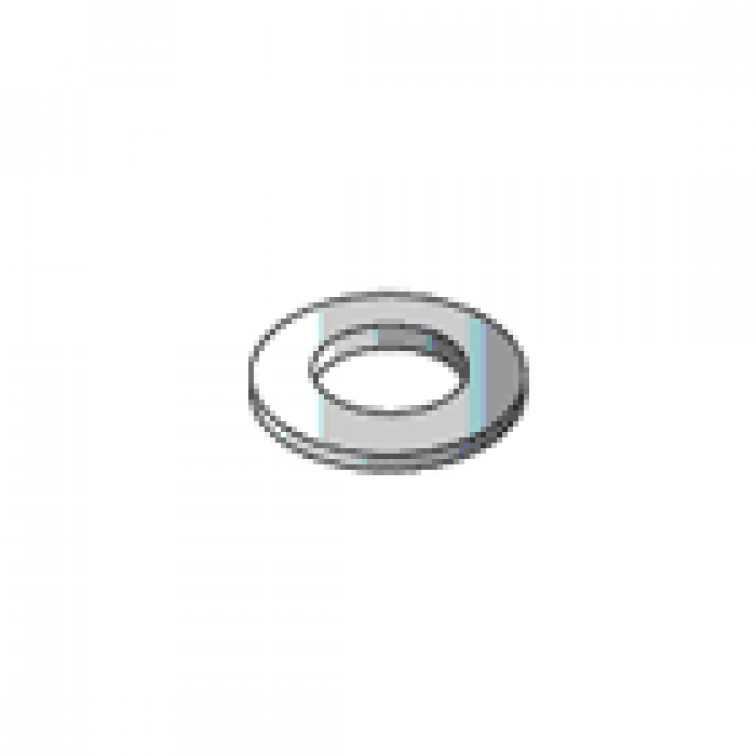 Stainless Steel Flat Washers M16 (100) (39995)