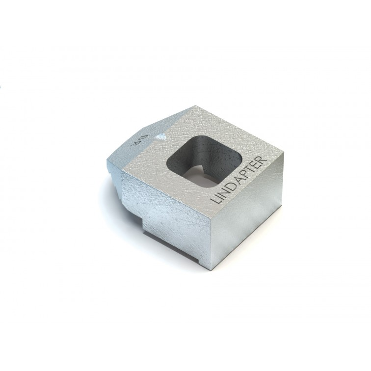 Lindapter M12 Type BR Lindapter Medium Tail Clamp Hot Dip Galvanised (BR12MHDG) (Box Quantity: 100)