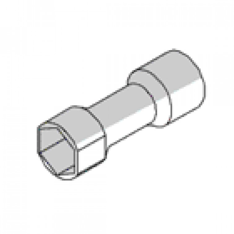 M12 Dawson Channel Socket 19AF Suits 62mm Channel