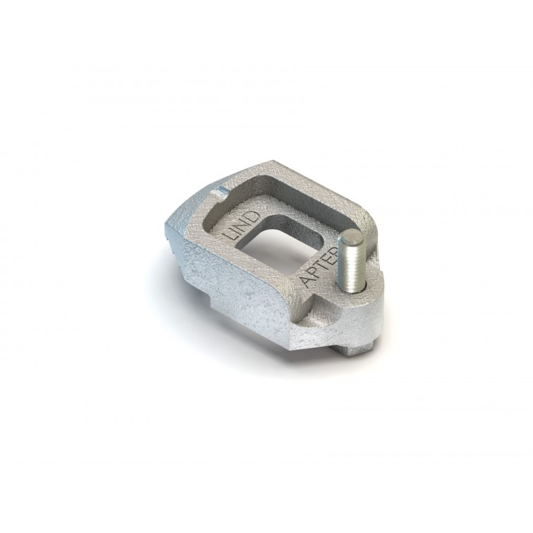 Lindapter M10 Type D2 Lindapter Clamp Zinc Plated (D210) (Box Quantity: 100)