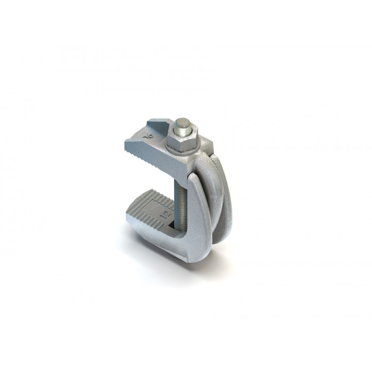 Lindapter M12 F9 Nut Clamp Without Bolt Clamp Zinc Plated (F912NB) (Box Quantity: 10)