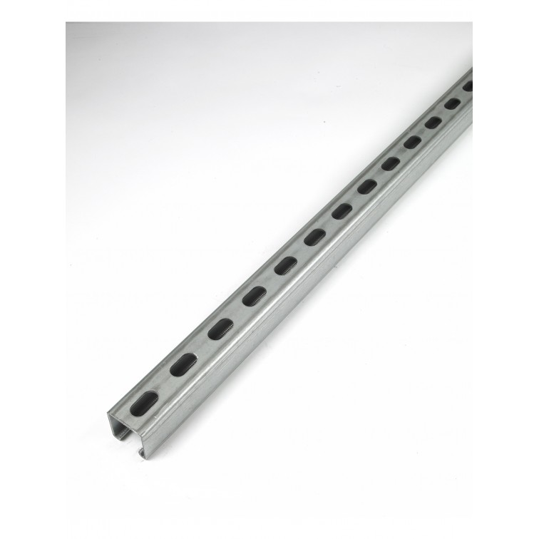 Unistrut Channel 41x41 Slotted 3m (14MM Slots) (P1000TX3SS) (P1000TX3SS)