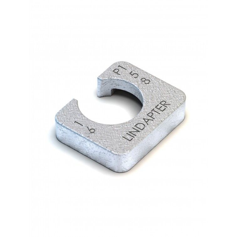 Lindapter M10 Type P1 Long Packing Zinc Plated (P1L10)
