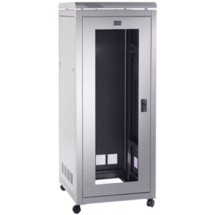 PI Data Cabinet 27U 600mm Wide X 600mm Deep x Height 1410mm - Glass Door