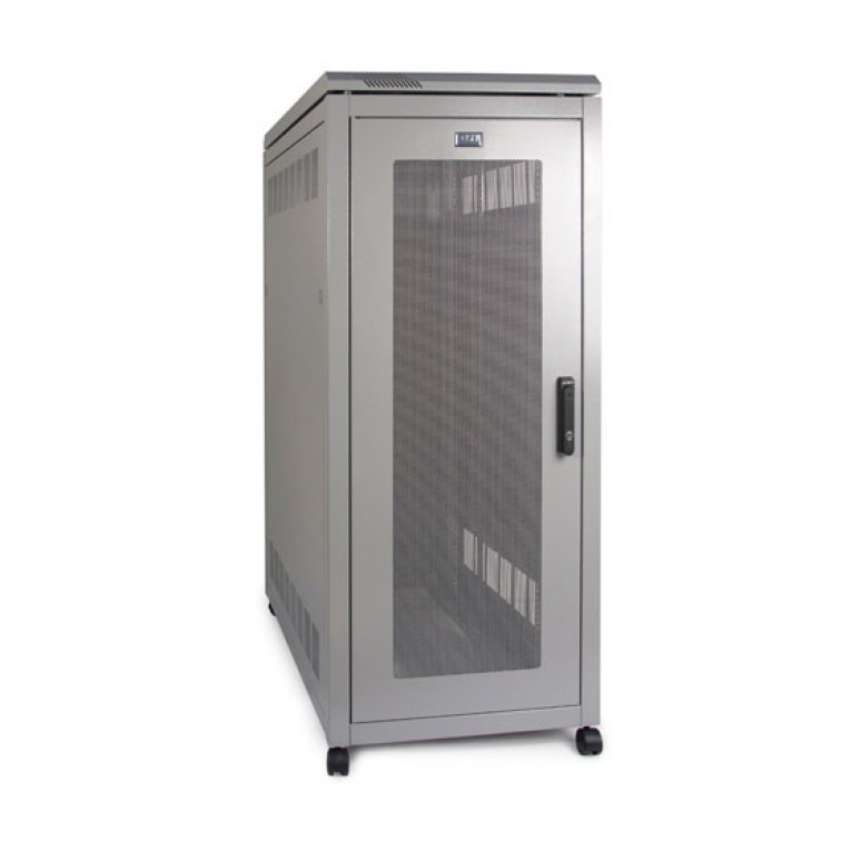 PI Server Cabinet 27U 600mm Wide X 1000 Deep x Height - Mesh Door