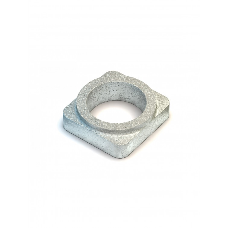 Lindapter M8 Type W Deep Washer Zinc Plated (W08)