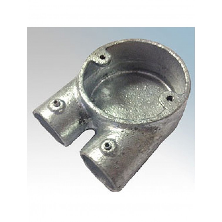 Conlok 20mm Galvanised U Box (CL6G)