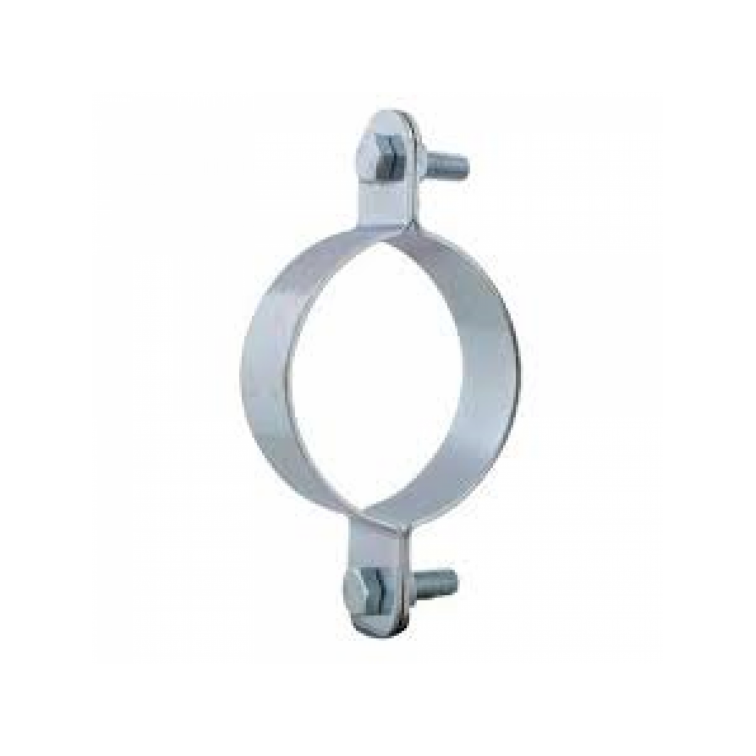 Walraven IH 100 40 x 3 M10 Zinc Plated Pipe Clip Split Band  40 x 3 M10 Zinc Plated Pipe Clip Split Band  65 nb (B4103076)